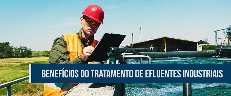 Ilustração sobre como tratar efluentes industriais no Brasil